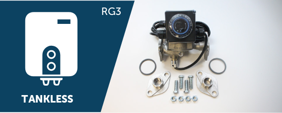 RG3 Hot Water Recirculation System - 3 Speed